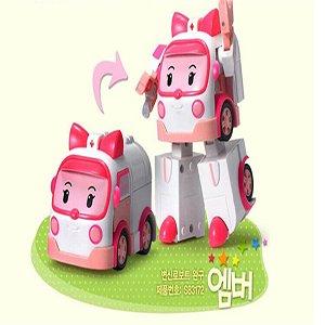 Pinki Robocar Poli Transformer